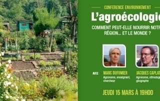 Conférence agroécologie