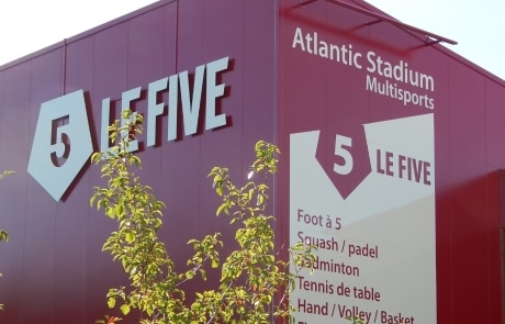 le five, salle multisports à la Rochelle