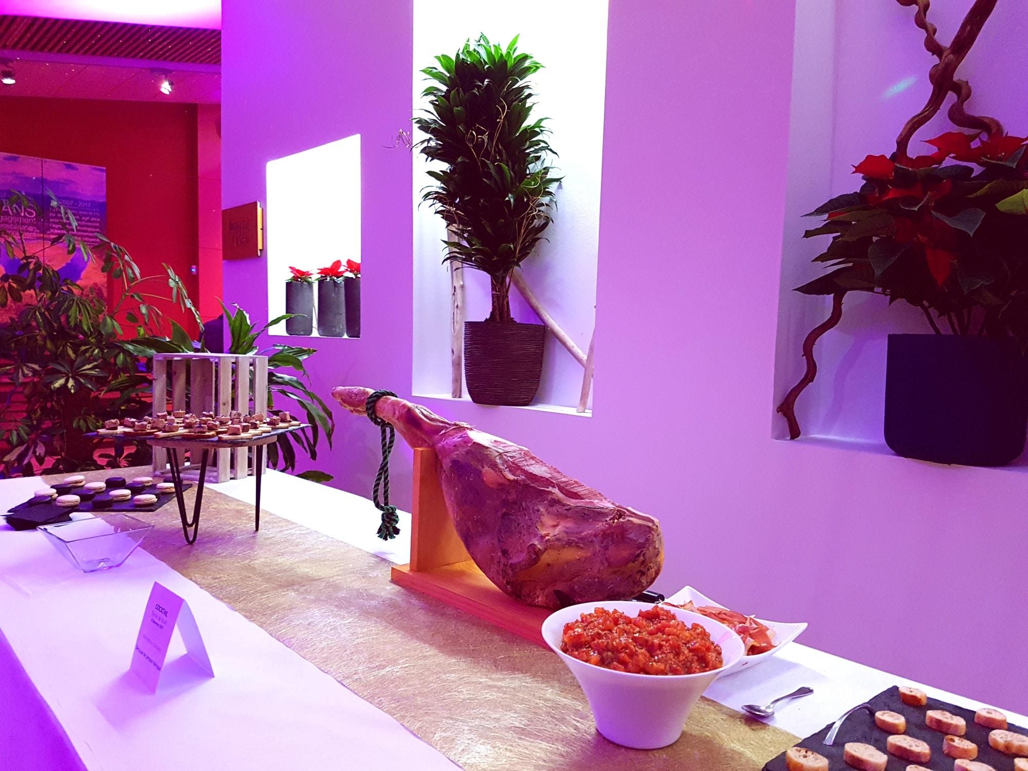 location de salle de réception à la Rochelle pour un cocktail de séminaire