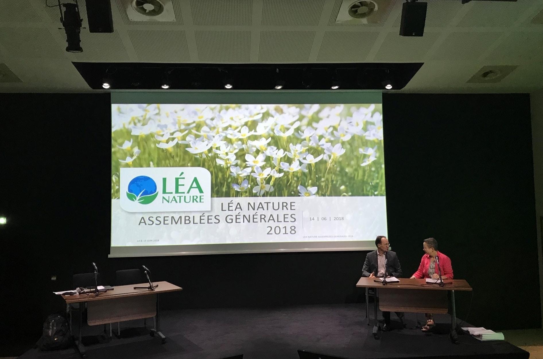l'assemblée générale 2018 de Léa Nature au BiO'Pôle de Léa à La Rochelle