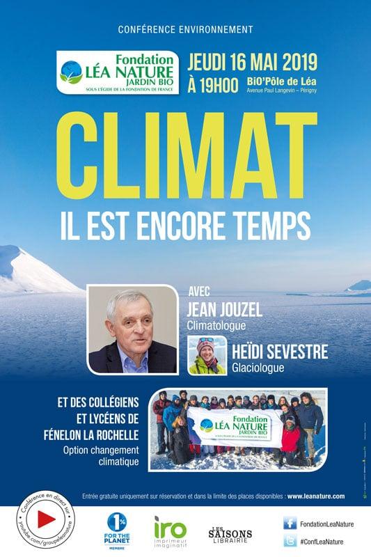 Conférence environnement - Climat, il est encore temps !