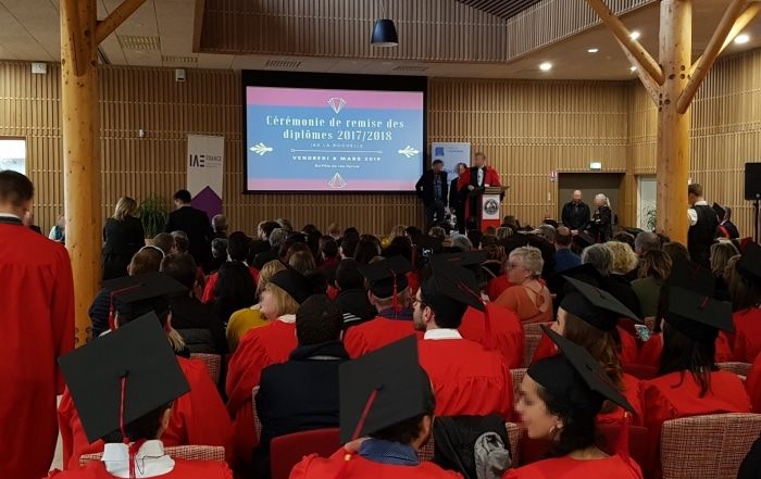 les diplômes de l'IAE de La Rochelle au biopôle Léa Nature